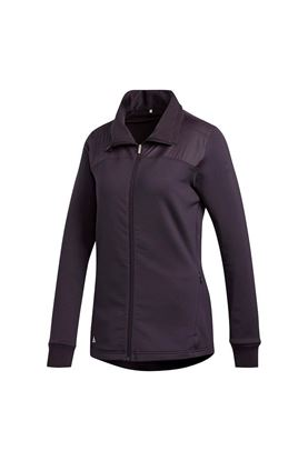 Show details for adidas zns Golf Women's Cold RDY Full Zip Jacket - Noble Purple