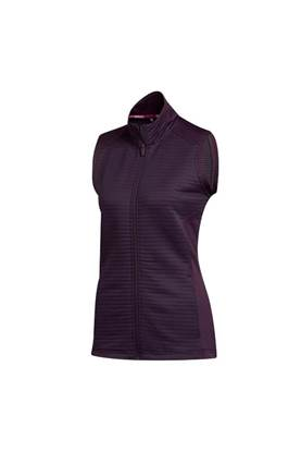 Show details for adidas Golf Ladies Cold RDY Vest - Noble Purple