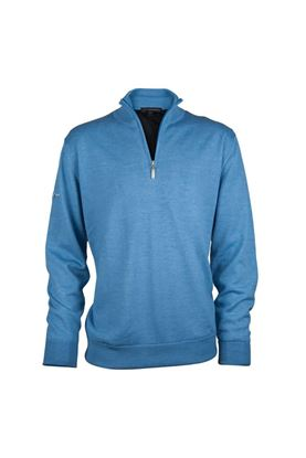 Show details for Greg Norman Men's Merino Lined Sweater - Blue