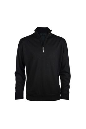 Show details for Greg Norman Men's Merino Lined Sweater - Black