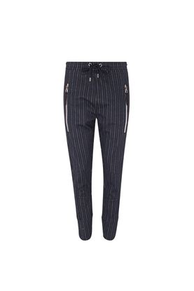 Show details for Swing Out Sister Moritz Pinstripe Trouser - Navy Stripe
