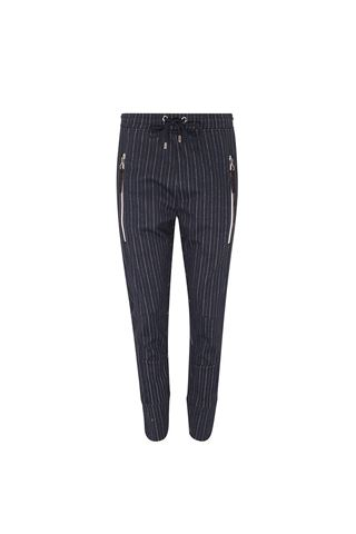 Picture of Swing Out Sister Moritz Pinstripe Trouser - Navy Stripe