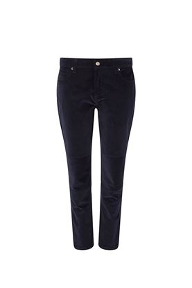 Show details for Swing Out Sister Katya Cord Stretch Trousers - Navy