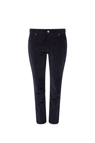Picture of Swing Out Sister Katya Cord Stretch Trousers - Navy