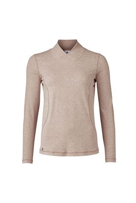 Show details for Daily Sports Ladies Agnes Long Sleeve Mock Neck - Hazel
