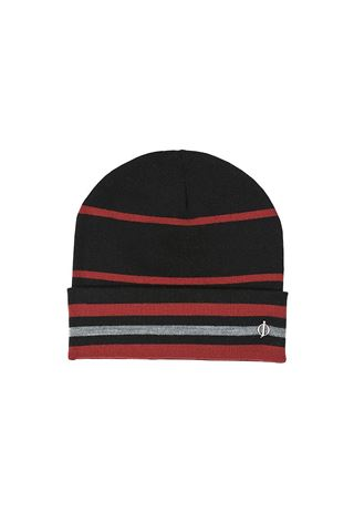 Picture of Oscar Jacobson Men's Knitted Golf Hat IV - Black 311