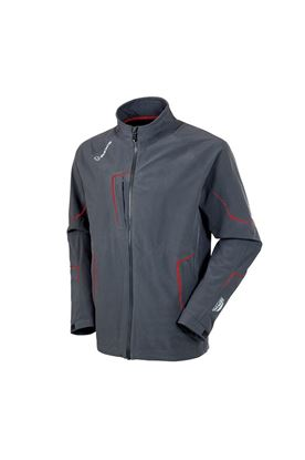 Show details for Sunice Men's Chad Zephal Waterproof Jacket - Charcoal / Brick Red