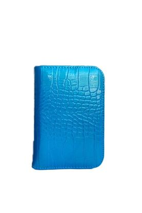 Show details for Surprizeshop Croc Effect Scorecard Holder - Aqua