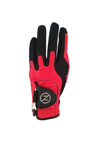 Picture of Zero Friction ZNS Men's Compression Fit Golf Glove - Red