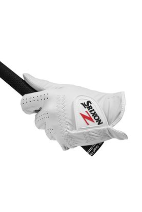 Show details for Srixon Men's Cabretta Leather Golf Glove - White