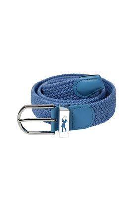 Show details for Surprizeshop Ladies Woven Belt - Pastel Blue