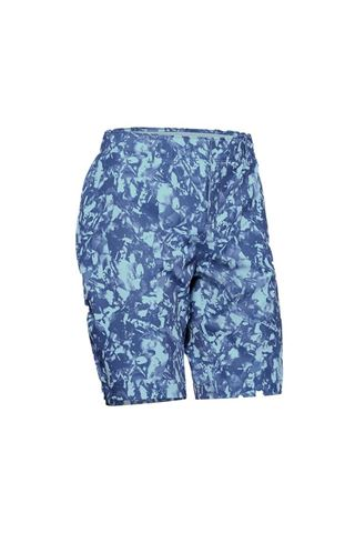 Picture of Under Armour UA Links Printed Shorts - Blue 494