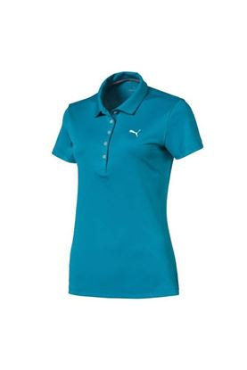 Show details for Puma Golf Women's Pounce Polo Shirt - Caribbean Sea
