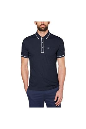 Show details for Original Penguin The Golfer Earl Polo Shirt - Black Iris
