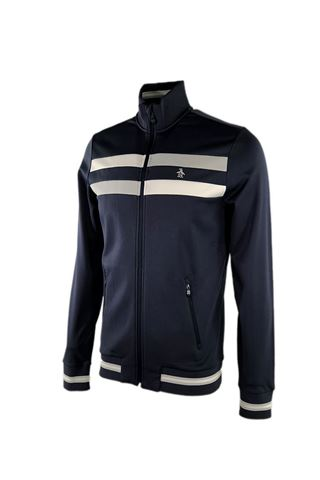 Picture of Original Penguin The Earl Vacation Track Jacket - Black Iris