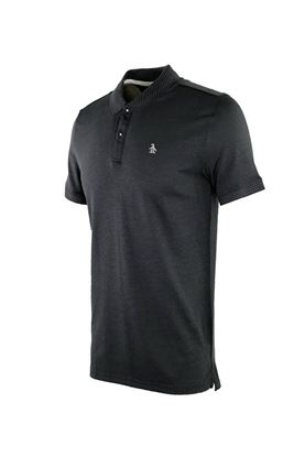 Show details for Original Penguin Dot Collar Pete Polo Shirt - Caviar