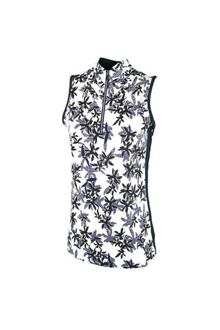 Picture of Tail Ladies Lindi Sleeveless Polo Top - Flash Floral
