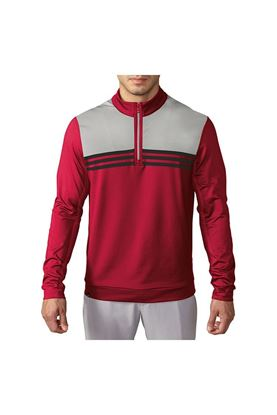 Show details for adidas Men's Climacool Colourblock Sweater - Unity Pink