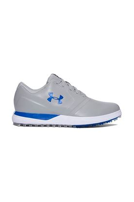 Show details for Under Armour UA Performance Spikeless Golf Shoe - Steel / Blue