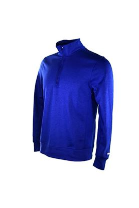 Show details for Nike Golf Men's Dri - Fit Player 1/4 Zip Top - Concord / Concord / Brushed Silver 471