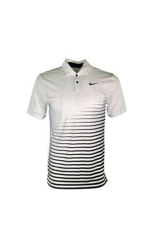 Picture of Nike Golf Men's Dri - Fit Vapor Graphic Polo Shirt - White 100