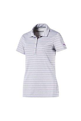 Show details for Puma Golf Women's Sunday Polo Shirt - Majesty 02