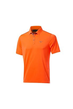 Show details for Mizuno Men's Pique Polo Shirt - Orange Clown Fish