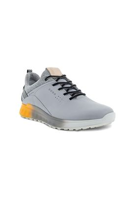 Show details for Ecco Golf Men's S-Three Golf Shoes - Silver Grey