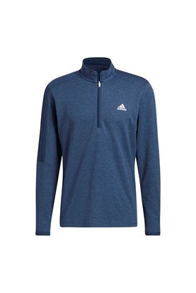 Show details for adidas Men's 3 Stripe 1/4 Zip Sweater - Crew Navy Melange