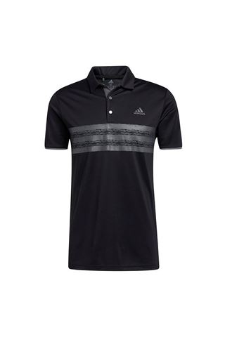 Picture of adidas Men's Core Polo Shirt - Black / Grey Five