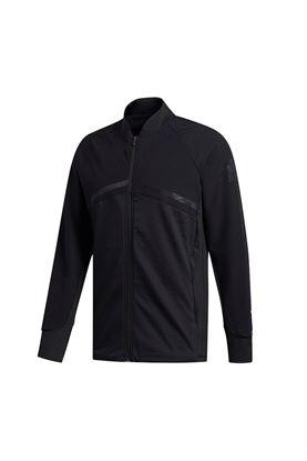 Show details for adidas Men's Hybrid Full Zip Jacket -Black