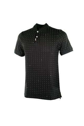 Picture of Nike Golf Men's Space Dot Slim Fit Polo Shirt - Black 010