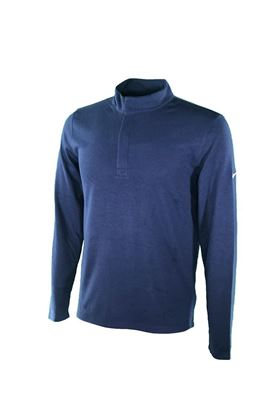 Show details for Nike Golf Men's Dri-Fit Victory 1/4 Zip Sweater - Navy 419
