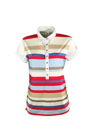 Picture of Daily Sports Ladies Trixie Polo Shirt - White