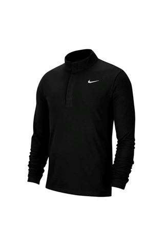 Picture of Nike Golf Men's Dri-Fit Victory 1/2 Zip Sweater - Black / Black / White