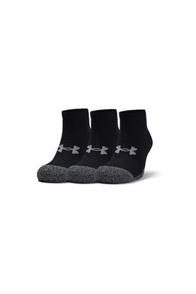 Show details for Under Armour Men's UA Heatgear Lo Cut Socks - 3 Pack - Black