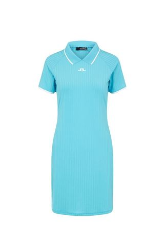 Picture of J.Lindeberg Ladies April Golf Dress - Beach Blue