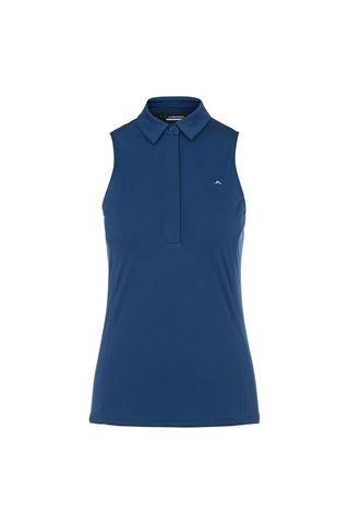 Picture of J.Lindeberg Ladies Dena Sleeveless Golf Top - Midnight Blue
