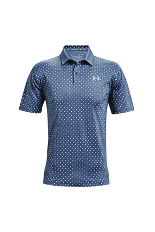 Picture of Under Armour ZNS Men's UA Performance Printed Polo Shirt - Isotope Blue