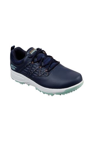 Picture of Skechers Ladies Go Golf Pro V. 2 Golf Shoes - Navy / Turquoise