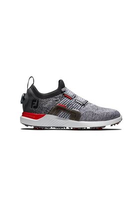 Show details for Footjoy Men's Hyperflex Boa Golf Shoes - Grey / Red