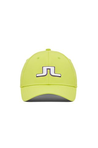 Picture of J.Lindeberg Men's Angus Golf Cap - Leaf Yellow