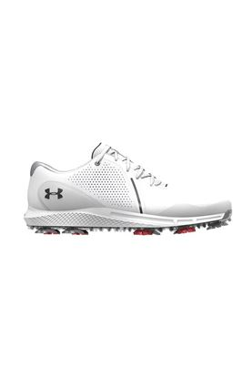 Show details for Under Armour Men's UA Charged Draw RST Wide E Golf Shoes - White