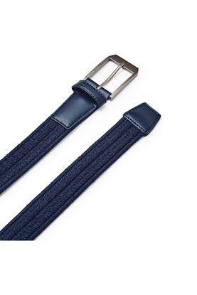Show details for Under Armour Men's UA Braided Golf Belt - Navy 408