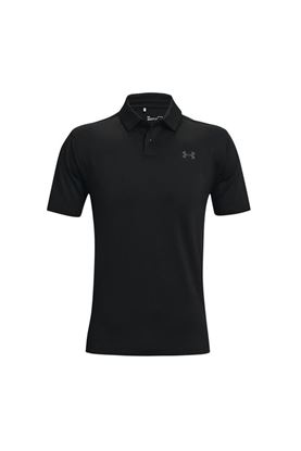Show details for Under Armour Men's UA T2G Polo Shirt - Black 001