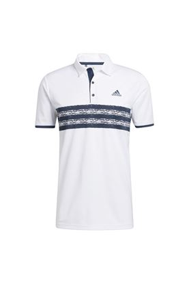 Show details for adidas Men's Core Polo Shirt - White / Crew Navy