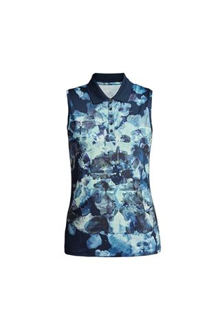Picture of Rohnisch Ladies Direction Sleeveless Polo Shirt - Blue Utopia