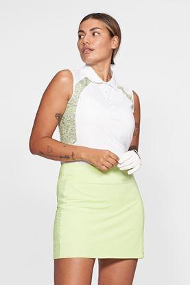 Show details for Rohnisch Ladies Sophie Sleeveless Polo Shirt - Moss Melange