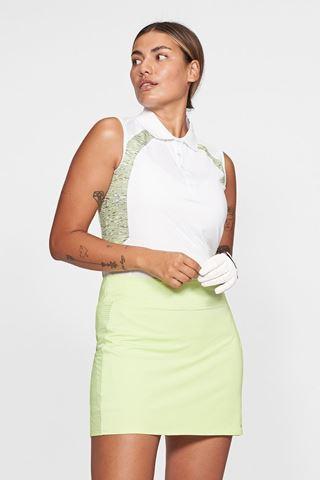 Picture of Rohnisch Ladies Sophie Sleeveless Polo Shirt - Moss Melange