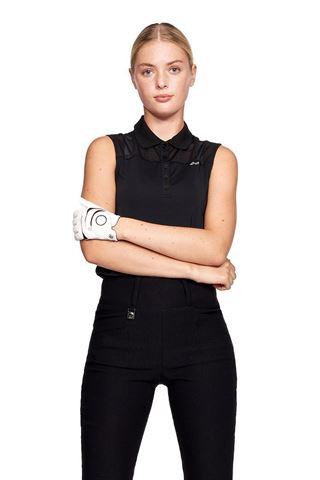 Picture of Rohnisch Ladies Miko Sleeveless Polo Shirt - Black